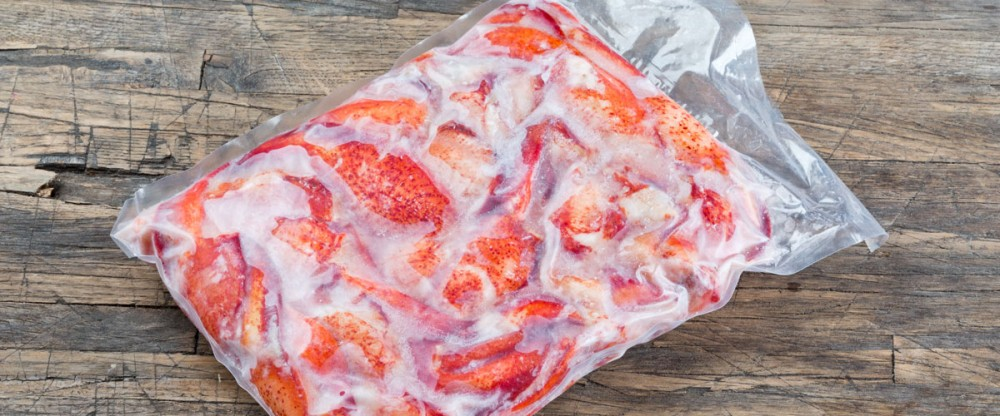 Frozen Cooked Lobster Meat