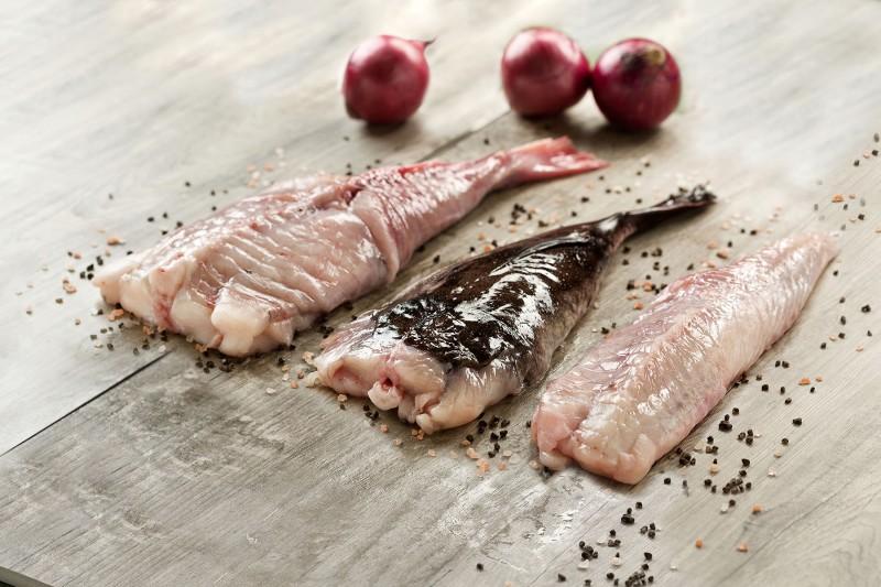 Frozen Monkfish Tails, Skin off